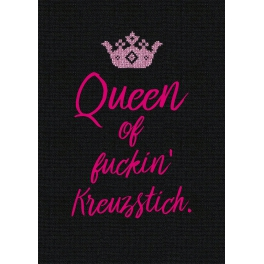 Queen of fuckin' Kreuzstich.
