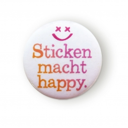 """Needleminder """"Sticken macht happy"""""""